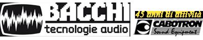Bacchi tecnologie audio